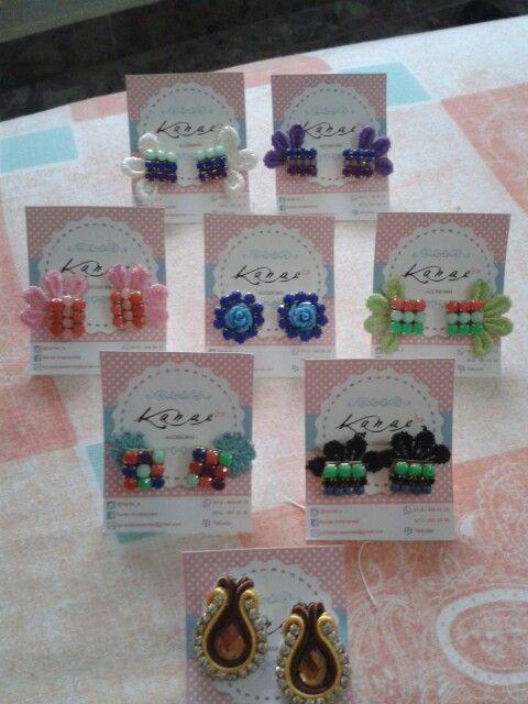 #accesoriosbellos #hechoamano #lucesiemprelinda ... contactanos por medio de facebook Kanae Accessories e instagram @Kanae_a