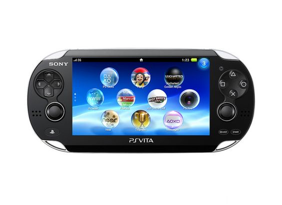 PS Vita, Sony's newest handheld console, revolutionizes the gaming experience with dual analog sticks, front and rear multi touch pads, motion sensors, and front and rear cameras. Game at the speed of your mobile lifestyle, start your game on PS3™ and continue on the go with your PS Vita.  http://us.playstation.com/psvita/