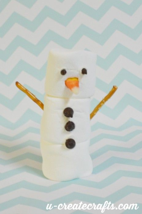 Build a marshmallow snowman christmas tutorials for I want to make a snowman