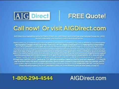 Aig Term Life Insurance Quotes Magnificent Aig Direct Term Life Insurance Drtv  Aigdirect  Pinterest  Term