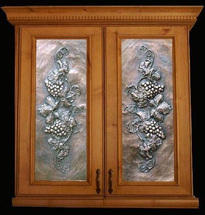 leaded glass kitchen cabinet door | cabinet door glass inserts for ...