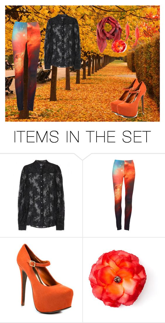 """""""Chasing the Sun"""" by star-fire ❤ liked on Polyvore featuring art and printed bottoms"""