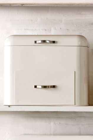 Bread Bin With Drawer from Next