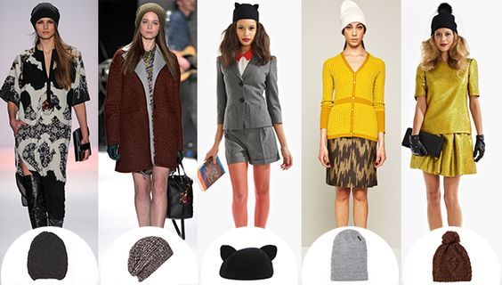 How To Wear A Beanie And Look As Cool As These Runway Models
