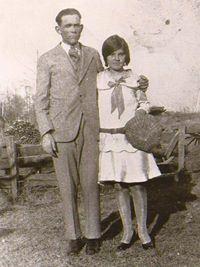 My grandma and grandpa Dollins