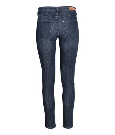 Super Skinny Low Jeans | Dunkelblau | Damen | H&M DE