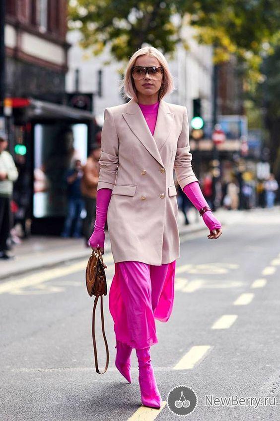 Street style на неделе моды в Лондоне весна-лето 2018