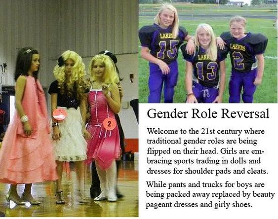 Gender Role Reversal Examples