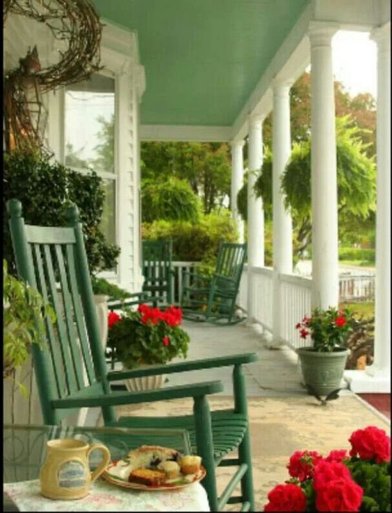 Front porch cozy