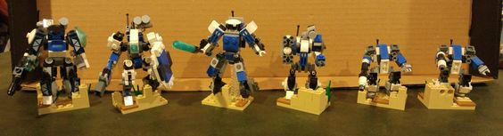 The Armoury: Robot's Microscale Mecha, by Robot Monkey