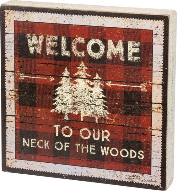 Woods Sign