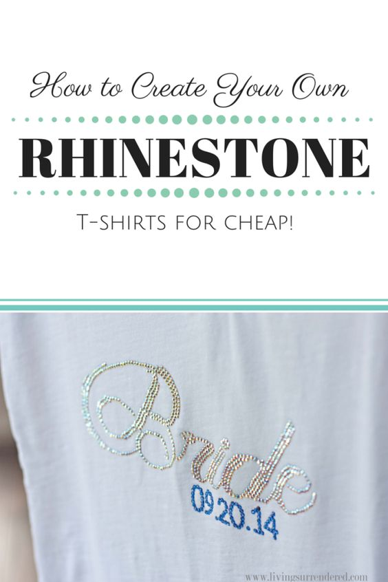 Want to create your own custom rhinestone shirts don 39 t for I want to make my own shirts