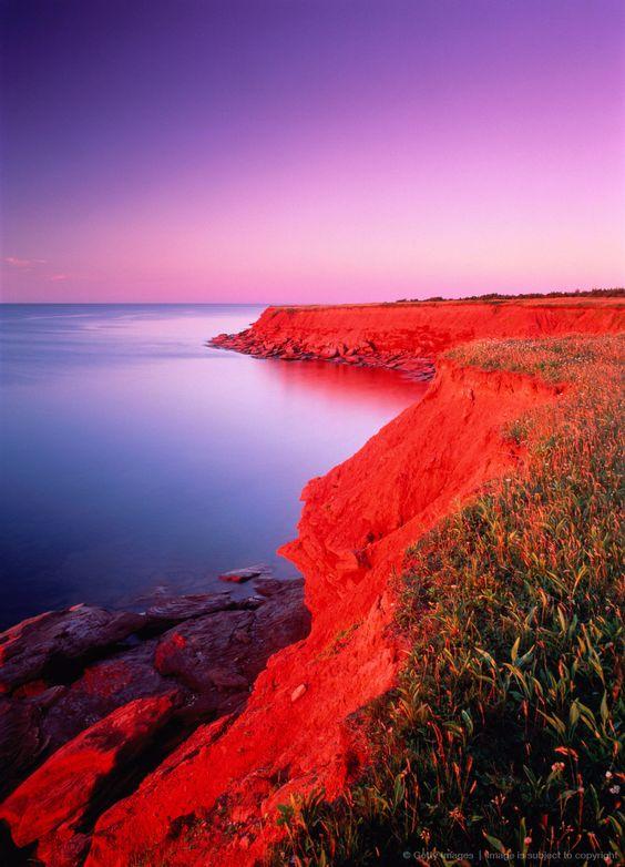 Cavendish Beach, Prince Edward Island National Park, Prince Edward Island, Canada: