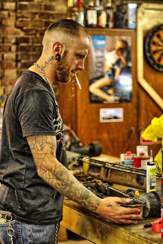 #Men at #work #Garage