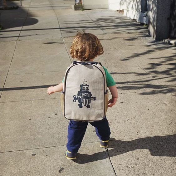 Someone got s new backpack. About time he started carrying his own weight. #greenspawn