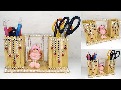 196 Ide Kreatif Kreasi Stik Es Krim Popsicle Stick Craft