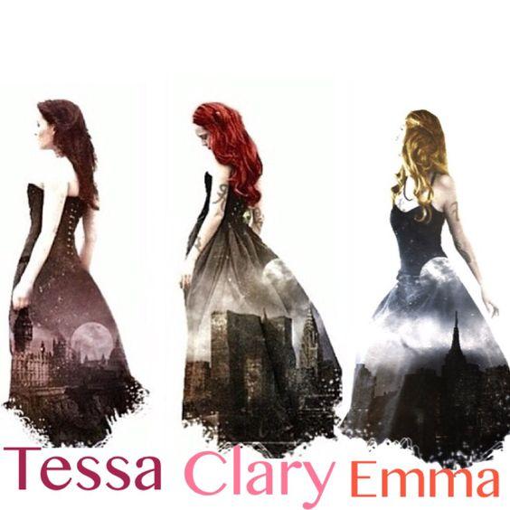 Tessa,Clary,and Emma: