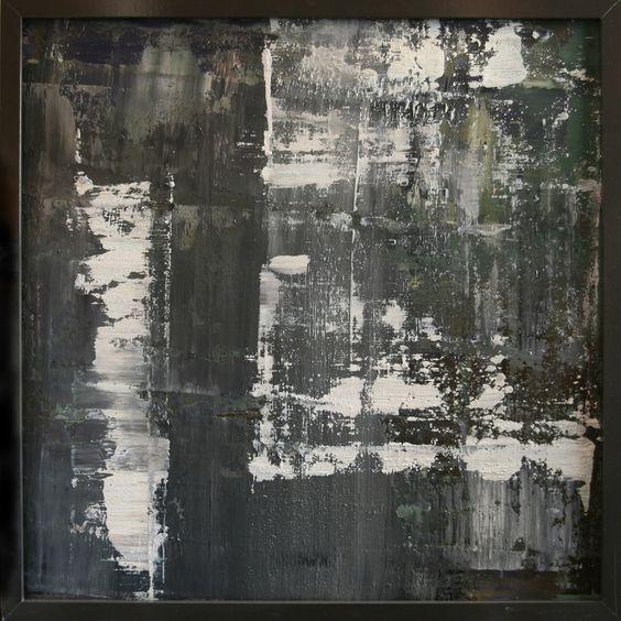 """Koen Lybaert; Oil 2014 Painting """"abstract N° 925"""""""