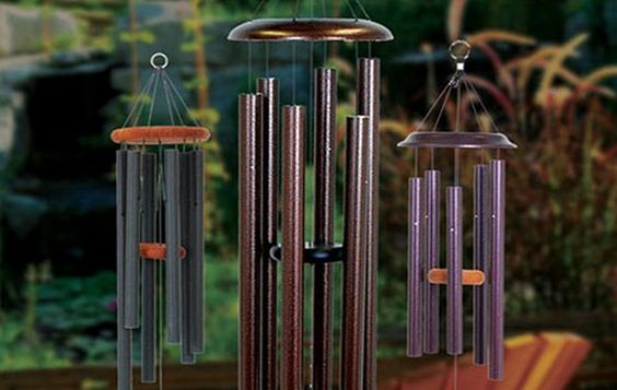 Wind chimes most beautiful and ideas on pinterest for Wind chime design ideas