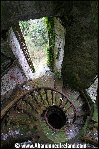 Abandoned ~ Foaty Tower, Co. Cork., Ireland