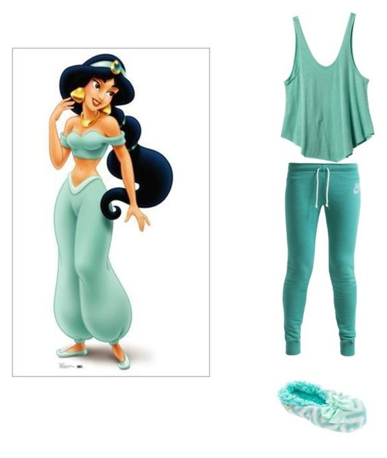 """""""Jasmine's PJs"""" by hollywood330 ❤ liked on Polyvore"""