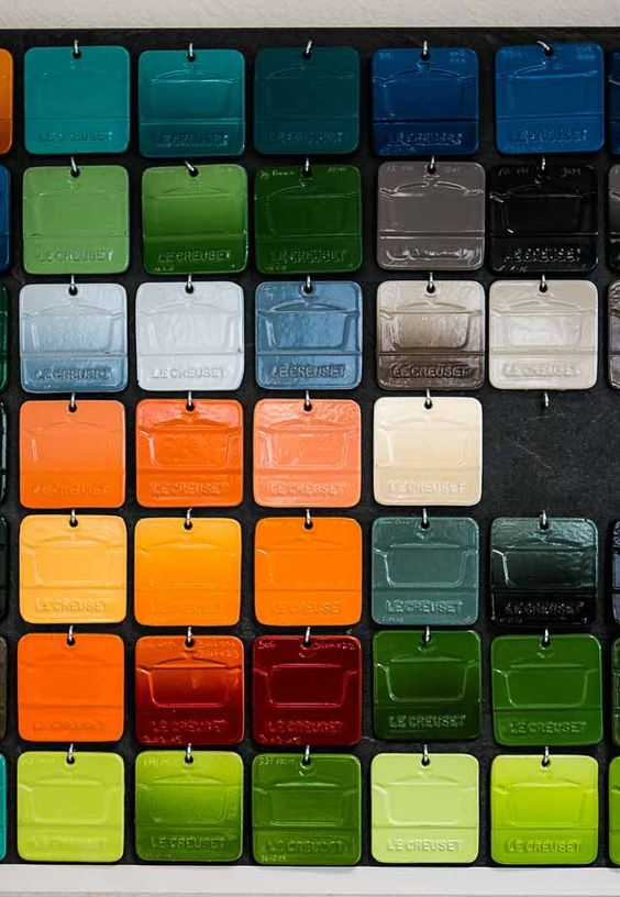 A visit to the Le Creuset factory... an intriguing 'behind the scenes' story by David Lebovitz.
