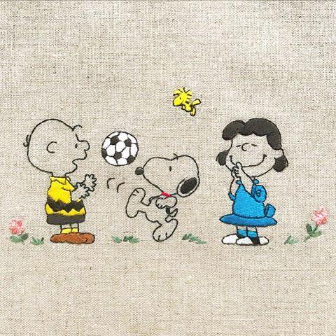Snoopy Peanuts Handembroidery Embroidery スヌーピー チャーリーブラウン ピーナッツ 刺繍 スヌーピー 書き方 お洒落 イラスト スヌーピー イラスト