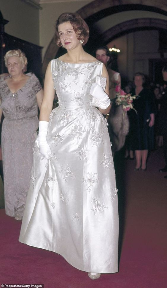 Princess Alexandra (pictured at Wigmore Hall in London, 1961) celebrated her 82nd birthday...