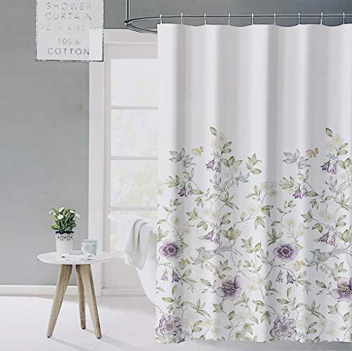 vintage shower curtain floral shower
