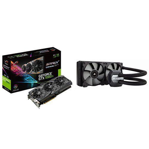 Asus Rog Strix Geforce Gtx 1080 Ti 11gb Vr Ready 5k Hd Gaming Graphics Card Rog Strix Gtx1080ti 11g Gaming Corsair Hydro Series H100i V2 Extreme Performance In 2020 Asus Rog Graphic Card Gaming
