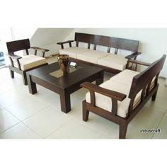 Admirable Wooden Sofa Set (3+2+1)