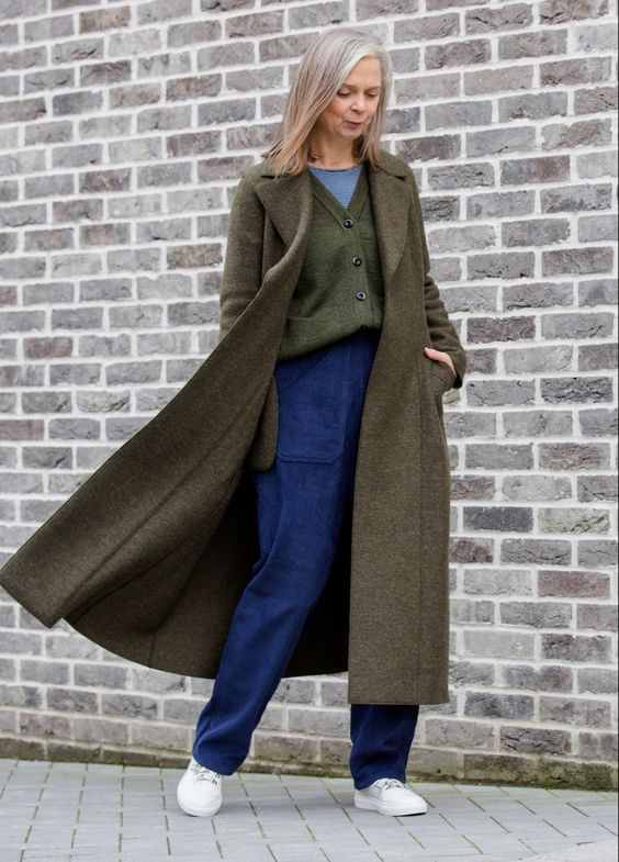 Comfy clothing bears no relation to age - feeling good in a particular outfit and dressing to please yourself comes down to style confidence Comfy clothing needs a re-brand.