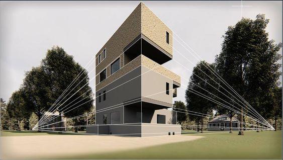 Mohammad O. Al-loziArchitectural Communication Skills- مهارات اتصال معماري جميل بالرغم من أن نسب الجزء المعلوم مختلفة  بعض الشيء  وكان يجب الدمج بين الموجود والمضاف وتعتيق الجزء المضاف واستكمال الظلال من نفس مصدر الضوء المعلوم