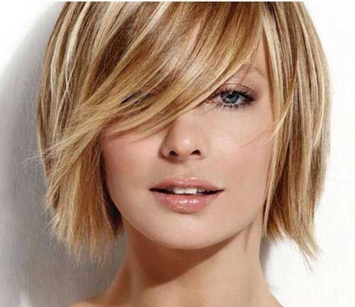 Phenomenal Short Blonde Brown Hair And Hairstyle Ideas On Pinterest Hairstyles For Women Draintrainus