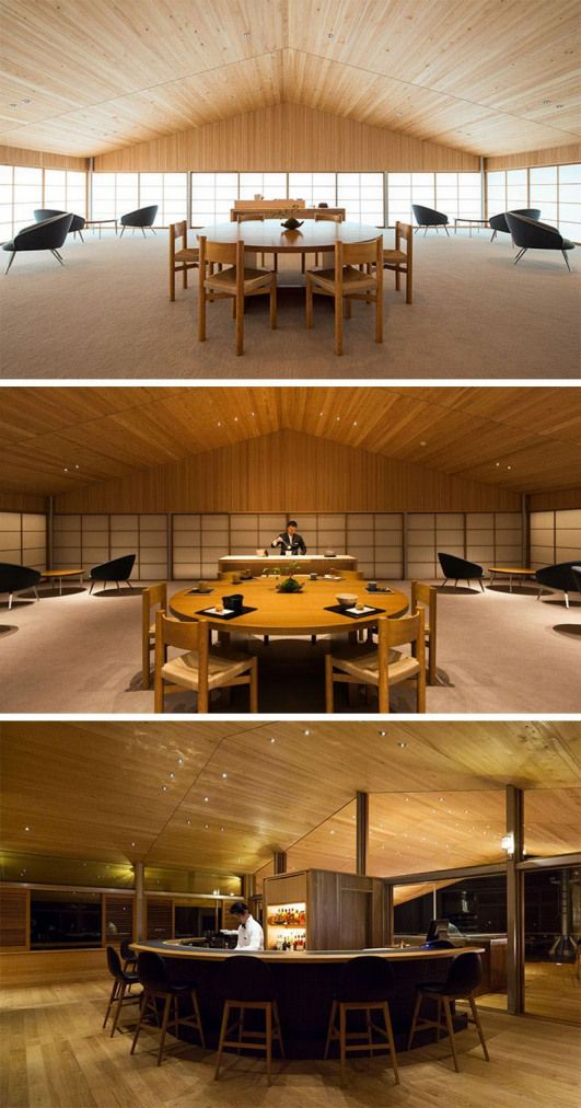 This Modern Floating Hotel In Japan Has An Indoor Lounge With A