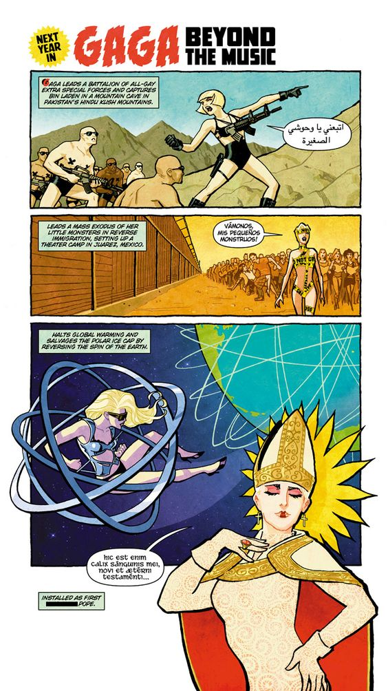 Gaga: Beyond The Music by Cliff Chiang.