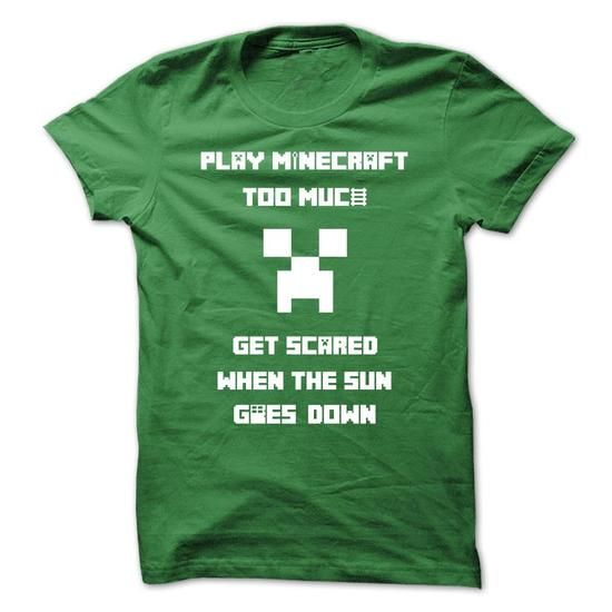 Sun Goes Down Minecraft - #gift wrapping #housewarming gift. BUY IT => https://www.sunfrog.com/Gamer/Sun-Goes-Down-Minecraft.html?68278