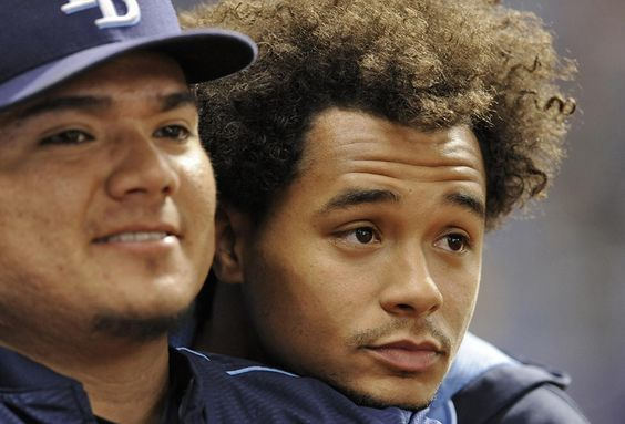 Chris Archer's hair now. (2016)