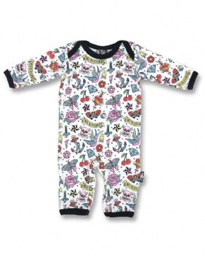CUTE FLASH, Six Bunnies Baby, Playsuit at Switchblade Clothing