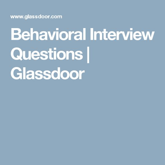preparing for behavioral interview - Josemulinohouse