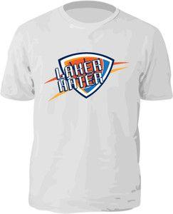 LAKER HATER SHIRTS! $12.95 on Ebay! GO THUNDER!