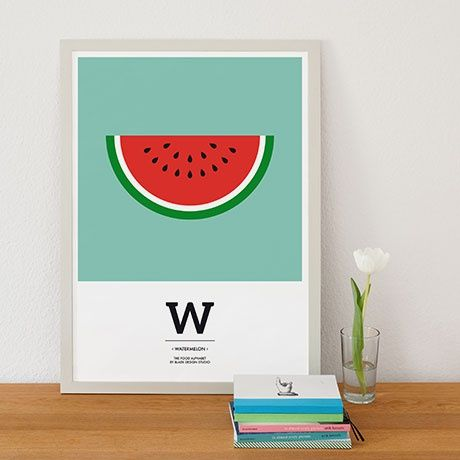 Watermelon Poster - A2 - alt_image_three