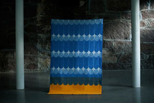 Norwegian design studio günzler.polmar will present two brand new projects at the 100% Norway exhibition at TENT London, during London Design Festival 2012. The duo BENKT consists of a bench and an accompanying blanket.