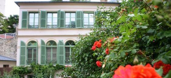 Musée de la Vie romantique Hôtel Scheffer-Renan 16 rue Chaptal, 75009 Métro : Pigalle ou Saint-George lieux-romantiques-paris