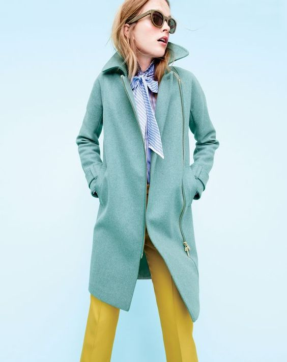 Color coated. Candy-bright hues, toasty Italian wools, thoughtful details… At J.Crew, we make coats to last a decade, not a season.: