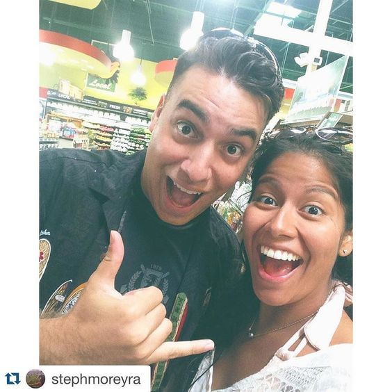 #Repost @stephmoreyra with @repostapp.  This guy's first trip to down to earth was clearly as exciting and successful as mine