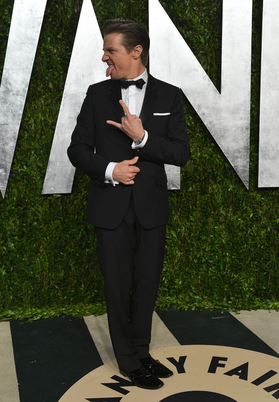JLR Rockin Out at Vanity Fair's 2013 Oscar After Party