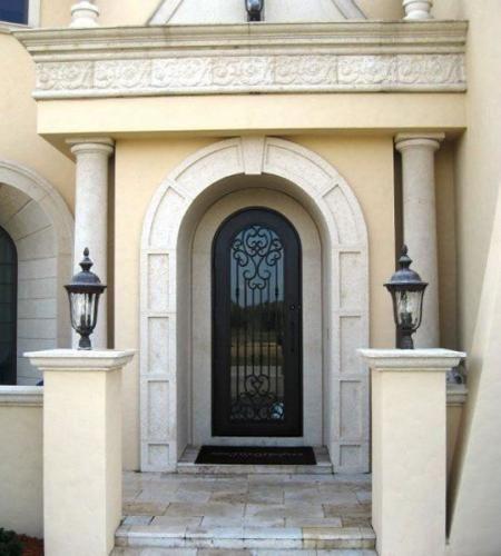 Sensation-40 - Wrought Iron Doors, Windows, Gates, & Railings from Cantera Doors