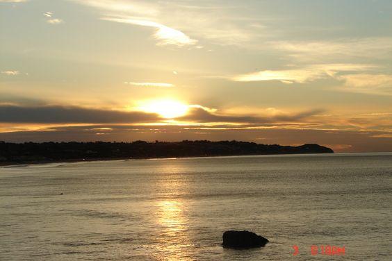 Victoria Point viewing of sunrise in Malibu,Ca.