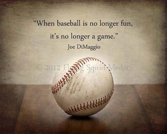16x20 Baseball Photo Print When baseball is no by SquidPhotos, $36.00